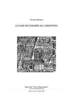 Le Case dei Cesarini All'Argentina